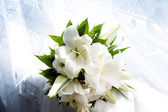 Bouquet with lilies — Stock Photo