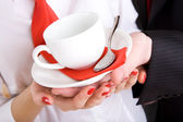 Ready to drink coffee — Stock Photo