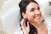 Happy bride — Stock Photo