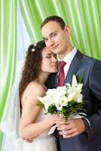 жених и невеста — Стоковое фото
