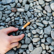 Cigarette butt — Stock Photo #36318179
