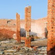 Collapsed brick — Stock Photo