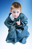 Boy in suit — Stock Photo