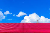 Roof of the house — Stock Photo