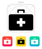Doctor suitcase icon. Vector illustration. — Stock Vector