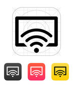 Remote control TV icon. Vector illustration. — Stock Vector