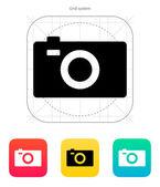 Digital camera icon. — Stock Vector
