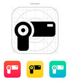 Hand-held camera icon. — Stock Vector