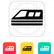 Train icon. — Stock Vector