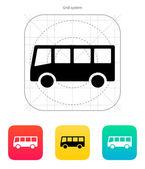 Otobüs simgesi — Stok Vektör