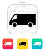 Minibus icon. — Stock Vector