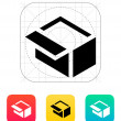 Open box icon. — Stock vektor