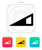 Indikátor ikony ovládání hlasitosti. — Stock vektor