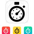 Stock Vector: Stopwatch icon.