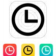 Time and Clock icon. — Stock Vector