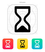 Hourglass ended icon. — Stock Vector