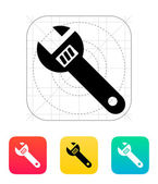 Spanner icon. — Stock Vector