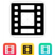 Stock Vector: Video icon.