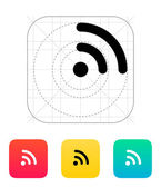 Radio signal Wi-Fi icon. — Stock Vector