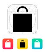 ícone da sacola de compras. — Vetorial Stock