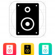 Audio speakers icon. — Stock Vector