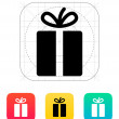 Gift icon. — Stock Vector