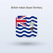 британская территория в индийском океане флагов — Cтоковый вектор