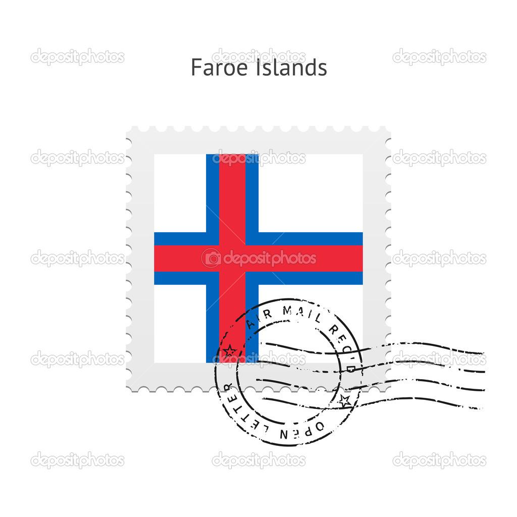 法罗群岛国旗邮票