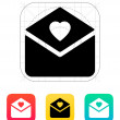 Love letter icon. — Stock Vector