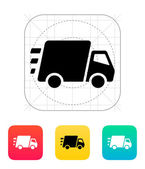 Fast delivery Truck icon. — Stock Vector