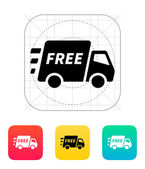 Free delivery support icon. — Stock Vector