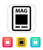 Magazine icon. — Stock Vector