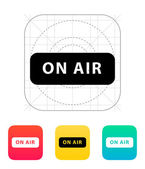 On air broadcasting icon. — Stock Vector