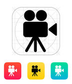 Camera icon. — Stock Vector