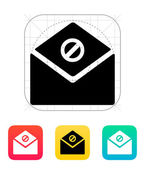 Spam mail icon. — Vector de stock
