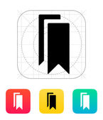 Bookmarks icon. — Stock Vector