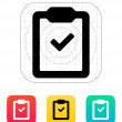 Check clipboard icon. — Vettoriale Stock  #39287507
