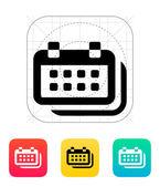 Calendars icon. — Vecteur