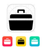 Open case icon. — Stock Vector