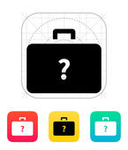Secret case icon. — Stock Vector