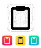 Clipboard icon. — Stock Vector