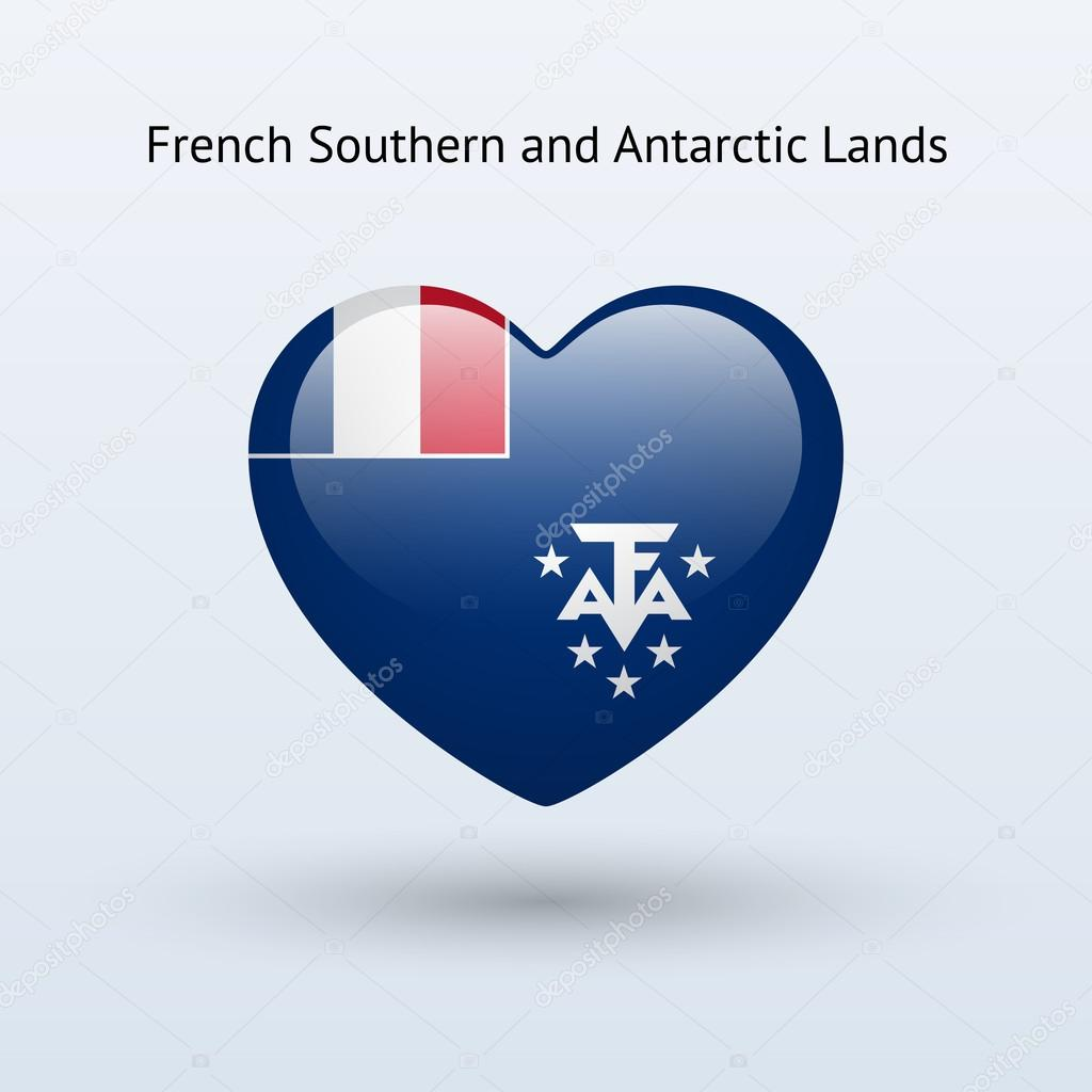 Stock Quote Southern Company: Love French Southern And Antarctic Lands Symbol.
