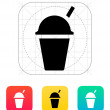 Takeaway cup icon. — Stock Vector