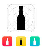 Beer bottle icon. — Stock Vector