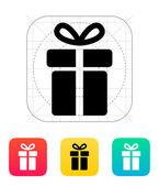 Present icon. — Stock Vector