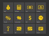 Economy icons. — Stock Vector