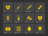Medical icons. — Stock vektor