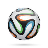 Football / soccer ball. — Stock Vector