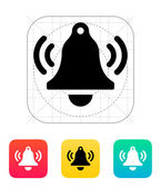 Ringing bell icon. — Stock Vector