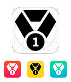 Medal icon. — Vetorial Stock